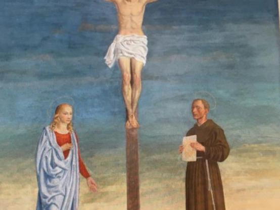 La pittura murale di Cesarino Vincenzi in S. Michele a ...